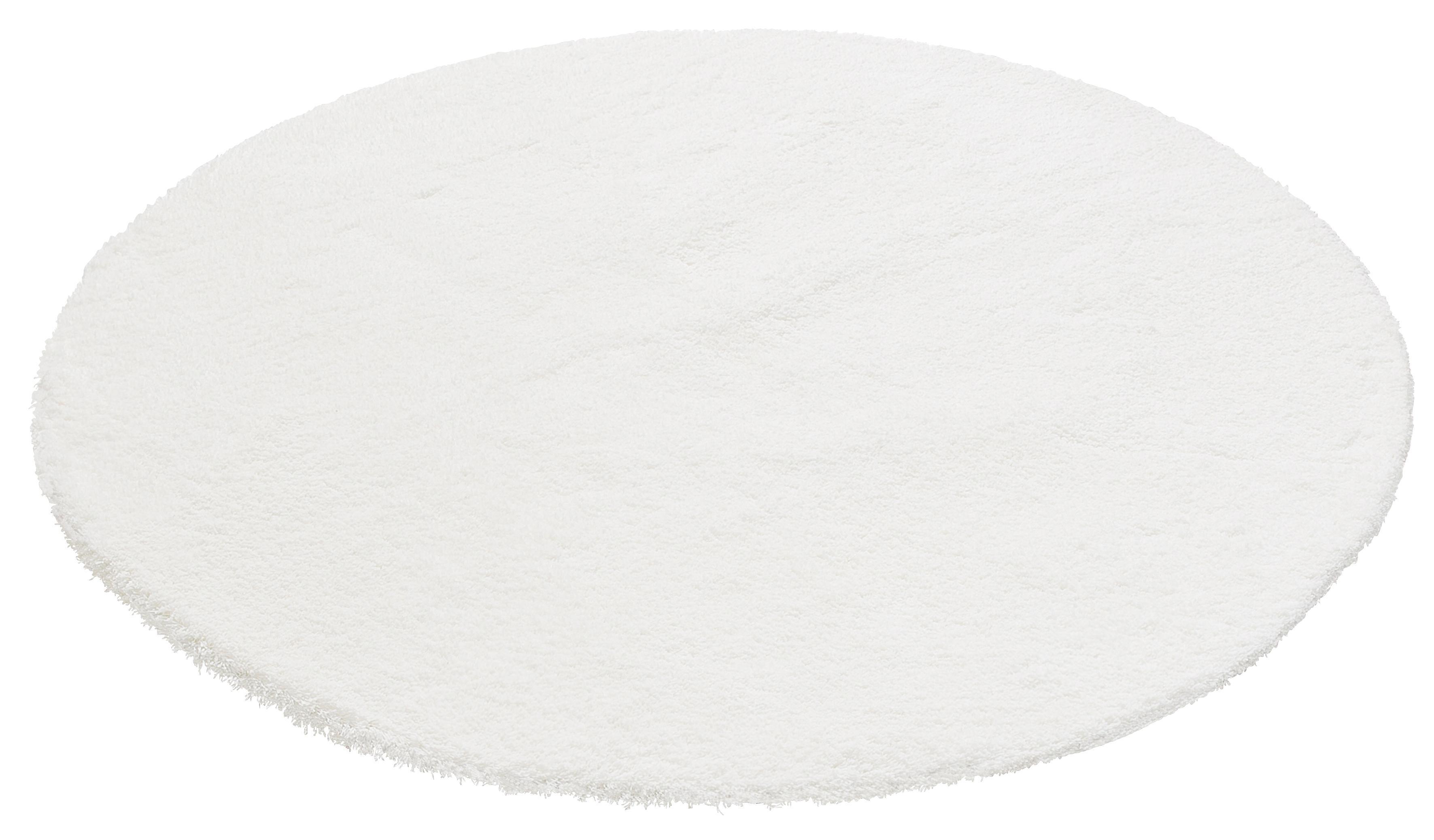 Hochflor-Teppich Magong my home rund Höhe 25 mm handgetuftet