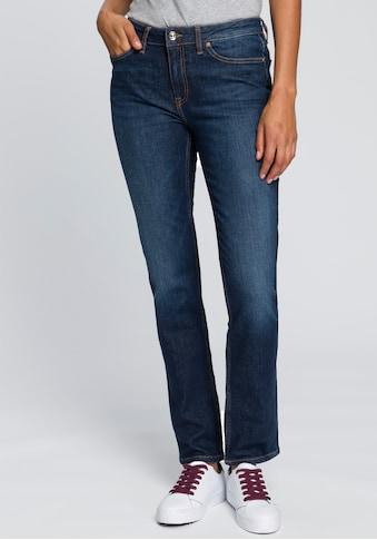 Tommy Hilfiger Straight-Jeans »HERITAGE ROME STRAIGHT RW«, mit leichten Fadeout-Effekten kaufen