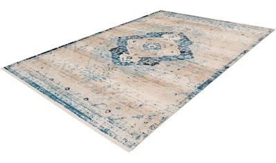 calo-deluxe Teppich »Rossa 502«, rechteckig, 5 mm Höhe, Vintage Optik, Wohnzimmer kaufen