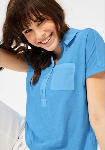 Cecil Poloshirt, aus reiner Baumwolle kaufen