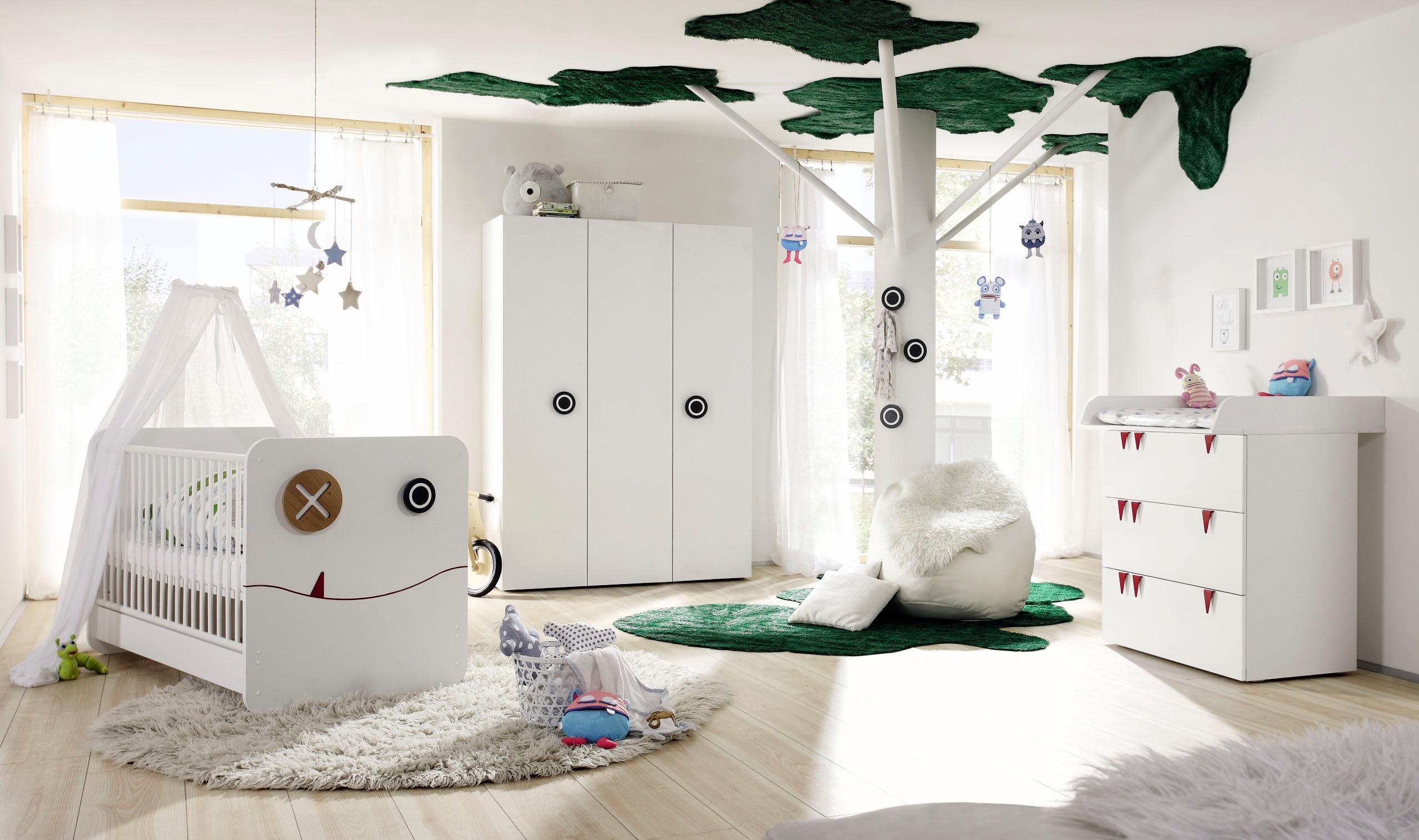now! by hülsta Babyzimmer-Komplettset now! minimo (Set 5-tlg) | Kinderzimmer > Babymöbel > Komplett-Babyzimmer | Weiß | Now! By Hülsta