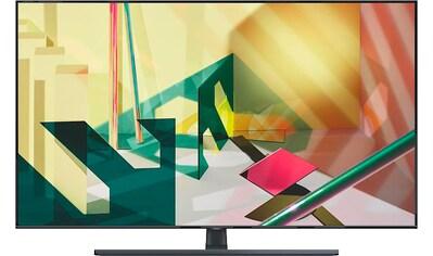 Samsung GQ85Q70T QLED - Fernseher (214 cm / (85 Zoll), 4K Ultra HD, Smart - TV kaufen