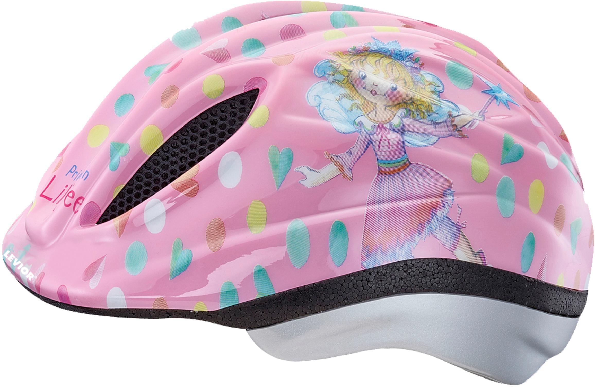 Levior Kinderfahrradhelm Lillifee rosa Damen Rad-Ausrüstung Radsport Sportarten Helm