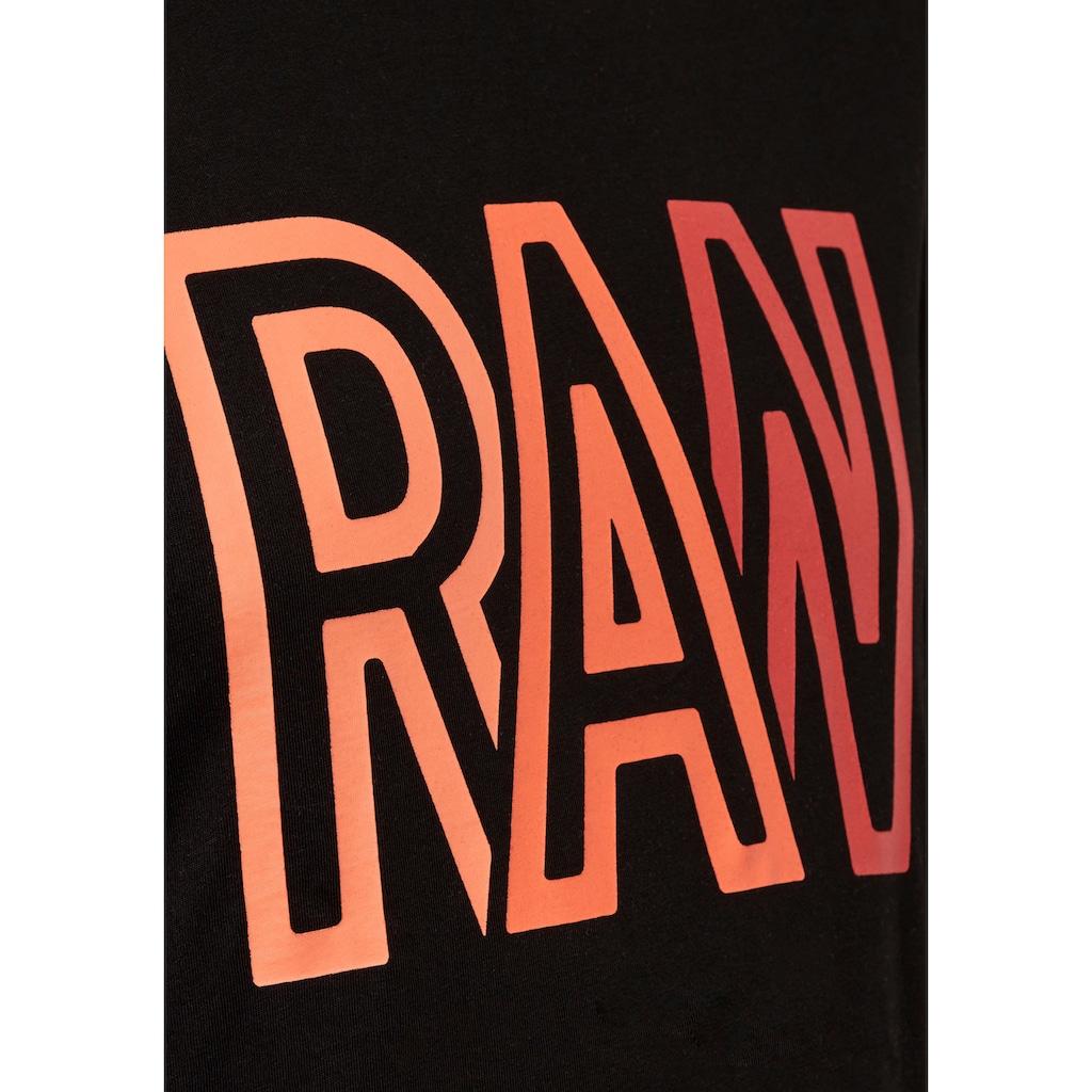 G-Star RAW Rundhalsshirt »Raw r T-Shirt«