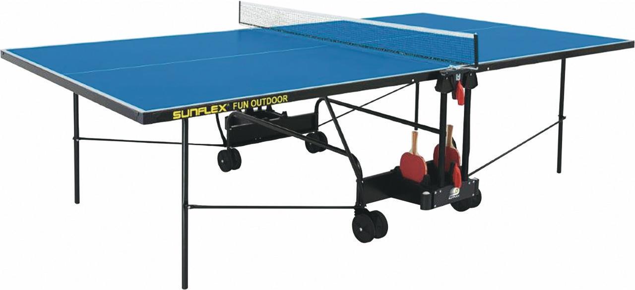 Sunflex, Tischtennisplatte, FUN OUTDOOR wetterfest, blau
