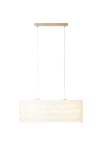 Brilliant Leuchten Deckenleuchten, E27, Galance Pendelleuchte 2flg holz hell/weiß kaufen