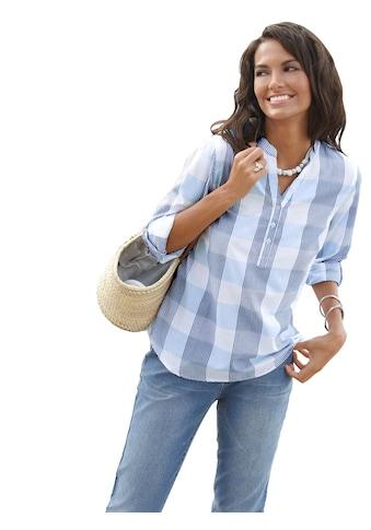 Casual Looks  Bluse aus reiner Baumwolle kaufen