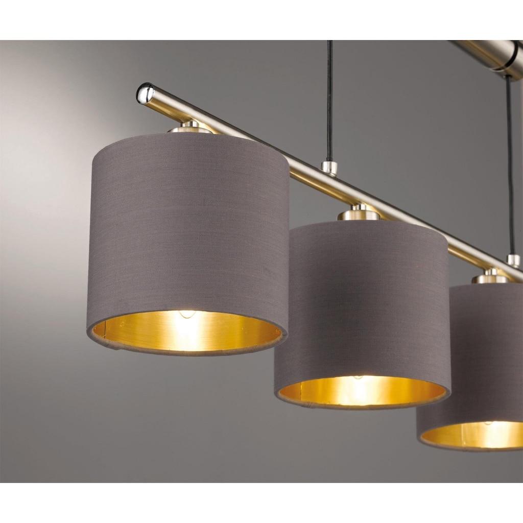 TRIO Leuchten Pendelleuchte »GARDA«, E14, Hängeleuchte, höhenverstellbar
