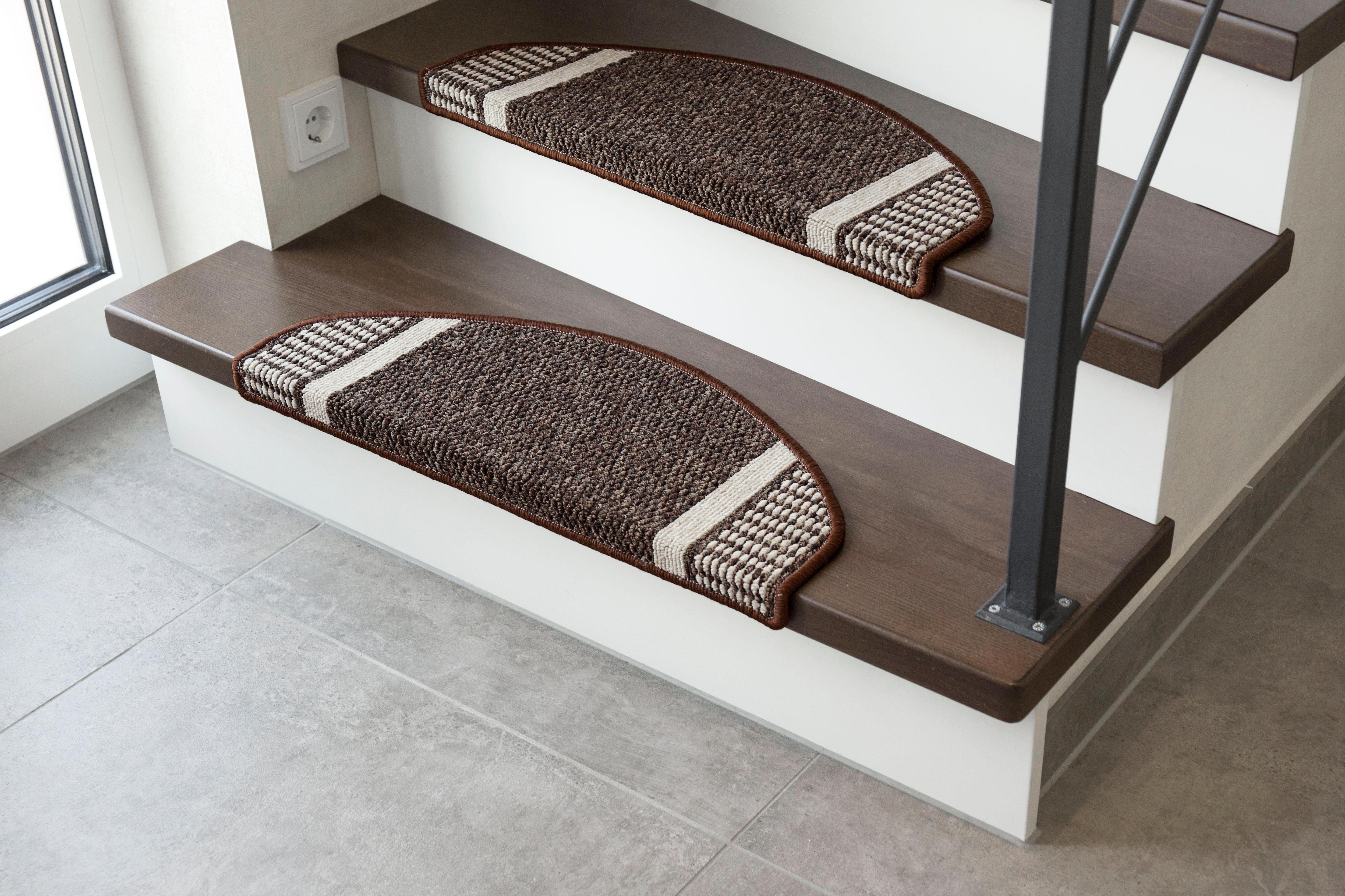 Stufenmatte Runner Andiamo stufenförmig Höhe 9 mm maschinell getuftet