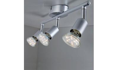 B.K.Licht LED Deckenspots, GU10, Warmweiß, LED Deckenleuchte inkl. 3 x 3W GU10 250 Lumen 3.000K IP20 Deckenstrahler kaufen