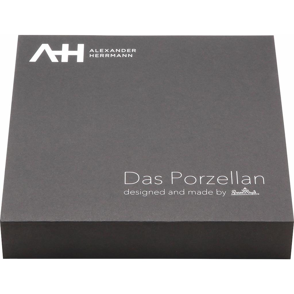 Alexander Herrmann Tafelservice »Mix«, (Set, 4 tlg.), Gitterrelief, Made in Germany