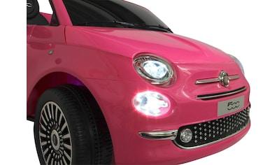 Jamara Elektro-Kinderauto »Ride-on Fiat 500«, ab 3 Jahren, bis 30 kg kaufen