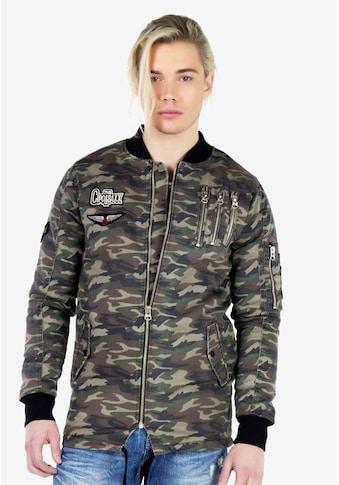 Cipo & Baxx Outdoorjacke, im angesagten Military-Style kaufen