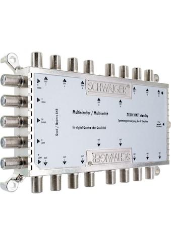 SCHWAIGER SAT Multischalter digitaler Multiswitch Verteiler Splitter »5 Eingänge 16 Ausgänge« kaufen