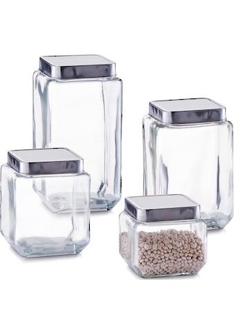 Zeller Present Vorratsglas (4 - tlg.) kaufen