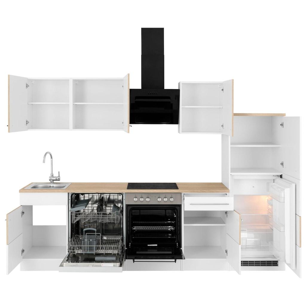 HELD MÖBEL Küchenzeile »Trient«, ohne E-Geräte, Breite 280 cm