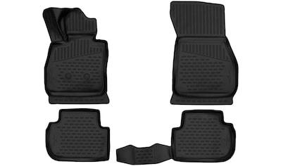 WALSER Passform-Fußmatten, (4 St.), für VW TIGUAN (2016-), TOURAN (2015-) kaufen