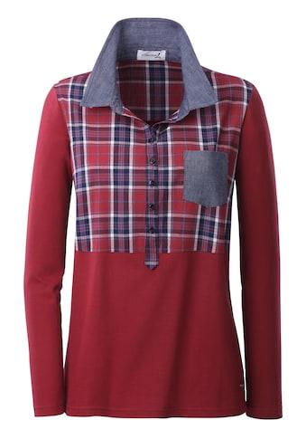 Casual Looks Poloshirt in Pikee - Qualität kaufen