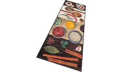 Läufer, »Hot Spices«, wash+dry by Kleen - Tex, rechteckig, Höhe 9 mm, gedruckt kaufen