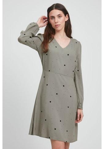 Ichi A-Linien-Kleid »IHVERA DR16 20115114«, Kleid mit Muster kaufen