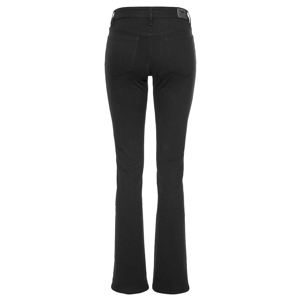 Arizona Bootcut-Jeans »Baby-Boot«, Mid Waist