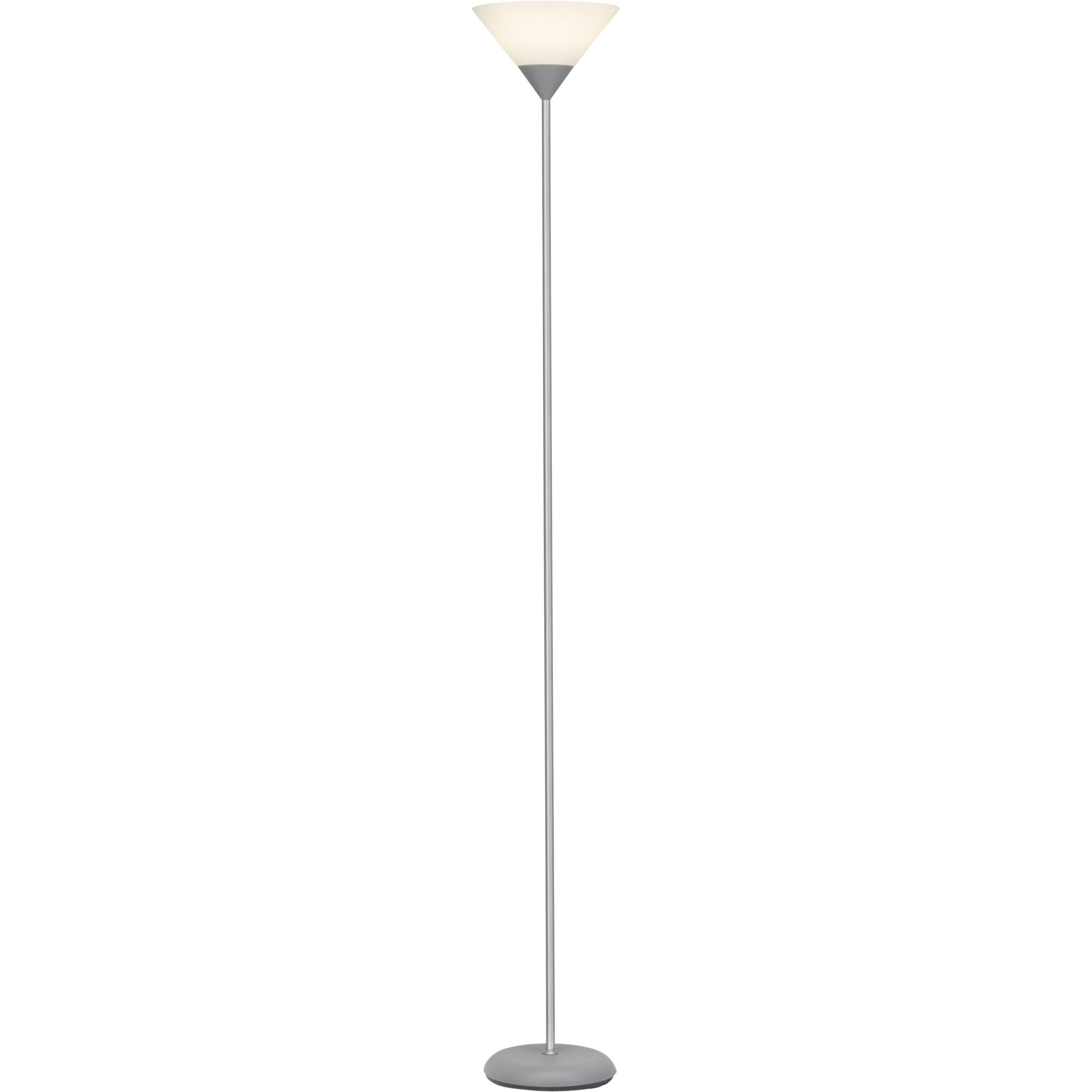 Brilliant Leuchten Spari LED Deckenfluter silber/weiß