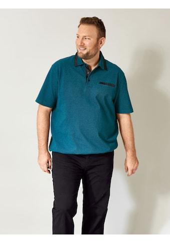 Men Plus by HAPPYsize Poloshirt, Spezialschnitt kaufen