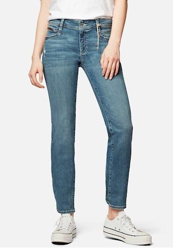 Mavi Straight-Jeans »OLIVIA-MA«, angenehm weiche Denimqualität mit hoher Formstabilität kaufen