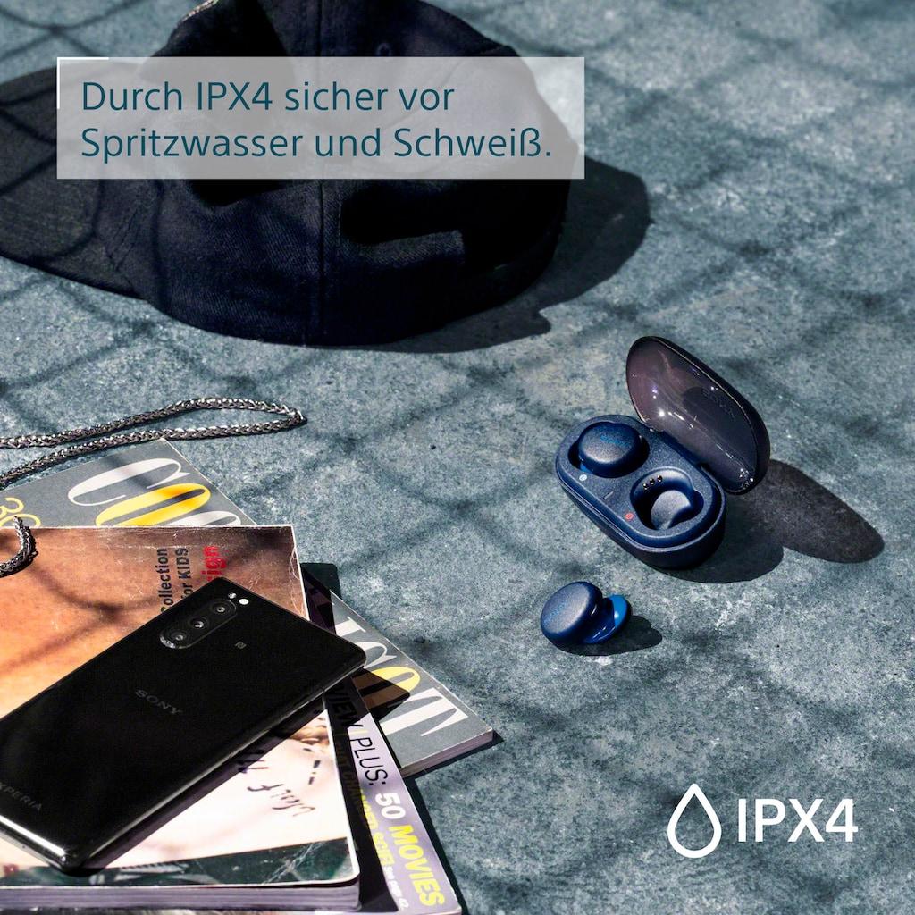 Sony wireless In-Ear-Kopfhörer »WF-XB700«, Bluetooth-NFC-A2DP Bluetooth (Advanced Audio Distribution Profile)-AVRCP Bluetooth (Audio Video Remote Control Profile), One-Touch Verbindung via NFC, Headset mit Mikrofon