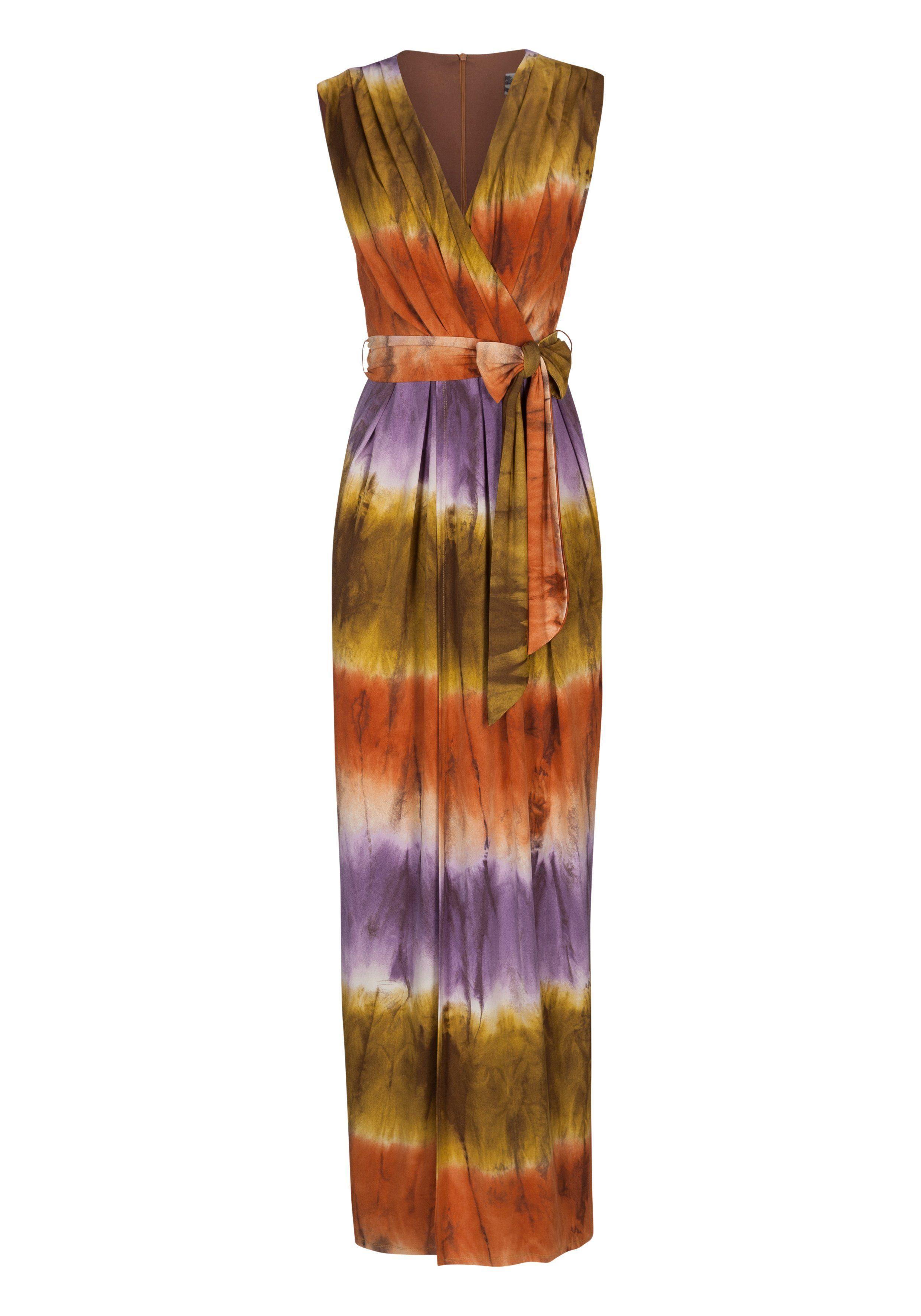 NICOWA Modisches Maxikleid NORELA mit Batik-Design