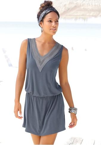 LASCANA Strandkleid, mit Häkelspitze am Ausschnitt kaufen
