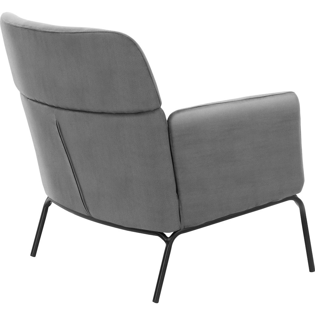 andas Armlehnstuhl »Vejen«, Sessel in zwei verschiedenen Bezügen erhältlich, Design by Morten Georgsen
