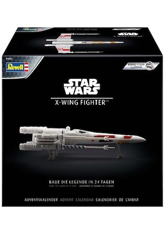 Revell® Adventskalender »Disney Star Wars - Raumschiffmodell X-Wing Fighter«, ab 10... kaufen