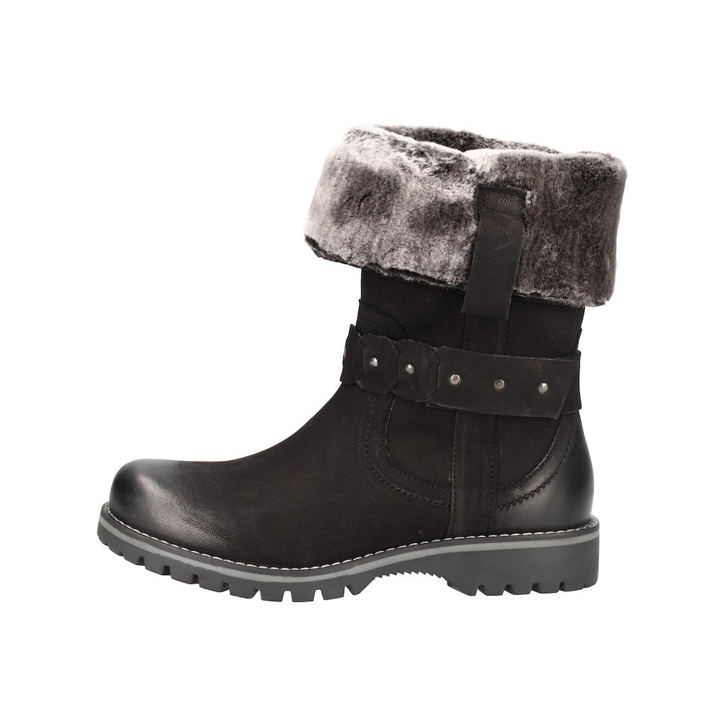 Bama Stiefel »Leder/Textil«