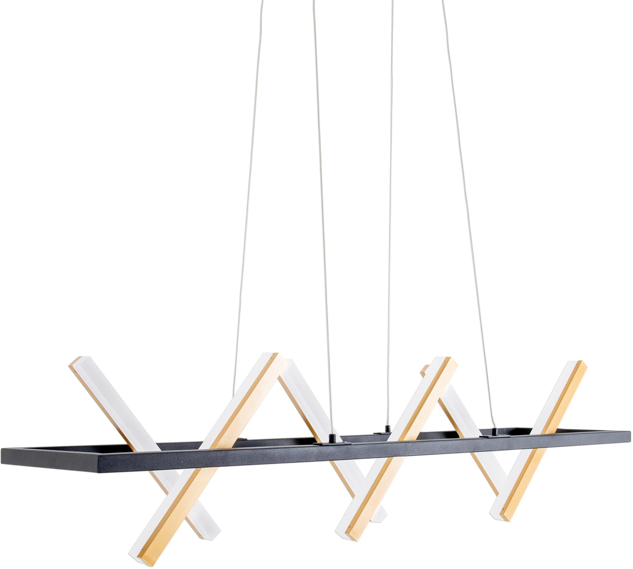 näve LED Pendelleuchte Cadice, LED-Board, 1 St., Warmweiß, individuell einstellbar