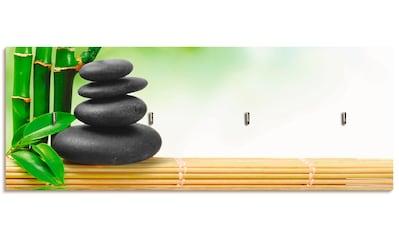 Artland Schlüsselbrett »Spa Konzept Zen Basaltsteine« kaufen
