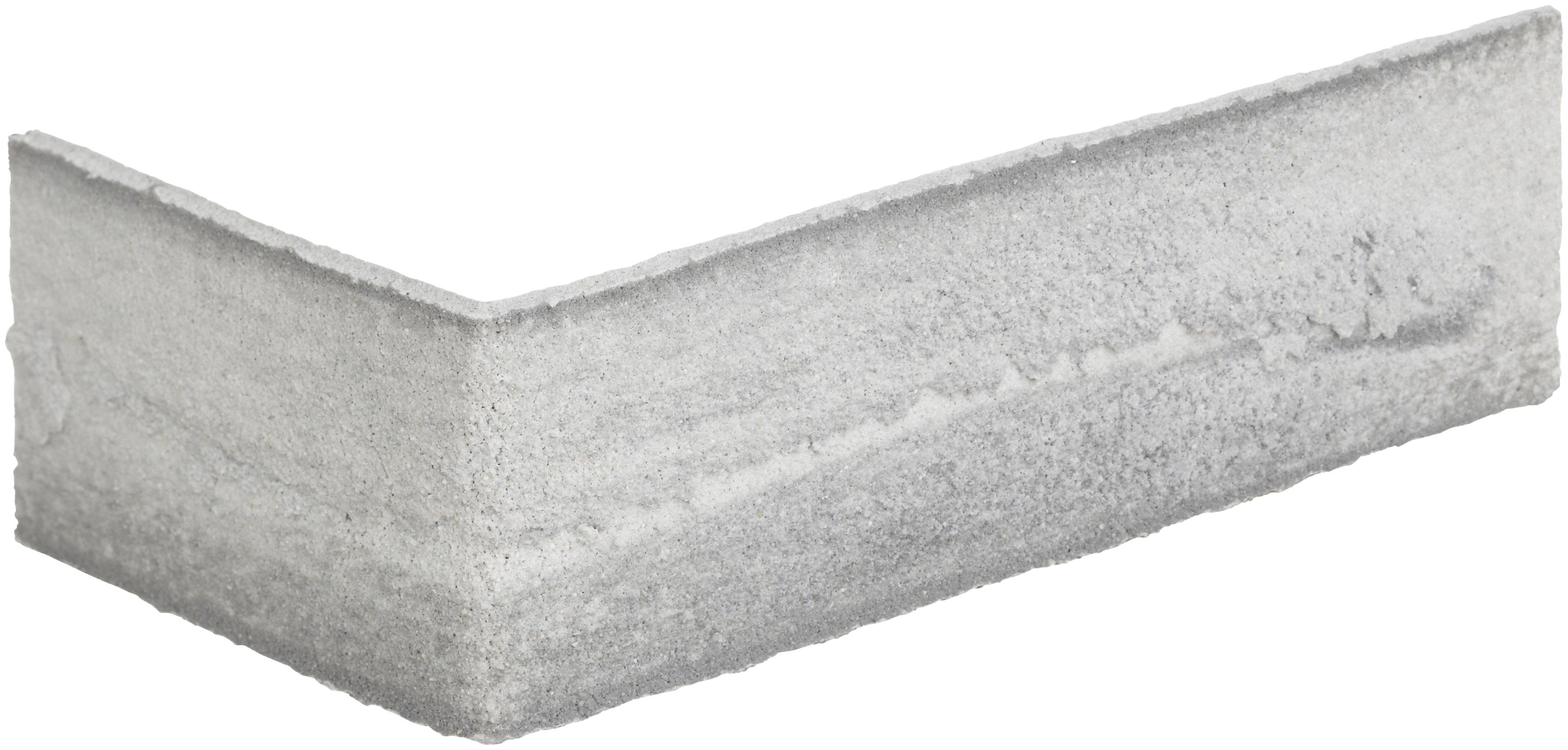 ELASTOLITH Verblender Nebraska Eckverblender, grau, für Innen- und Aussenbereich, 2 Lfm grau Verblendsteine Paneele Bauen Renovieren