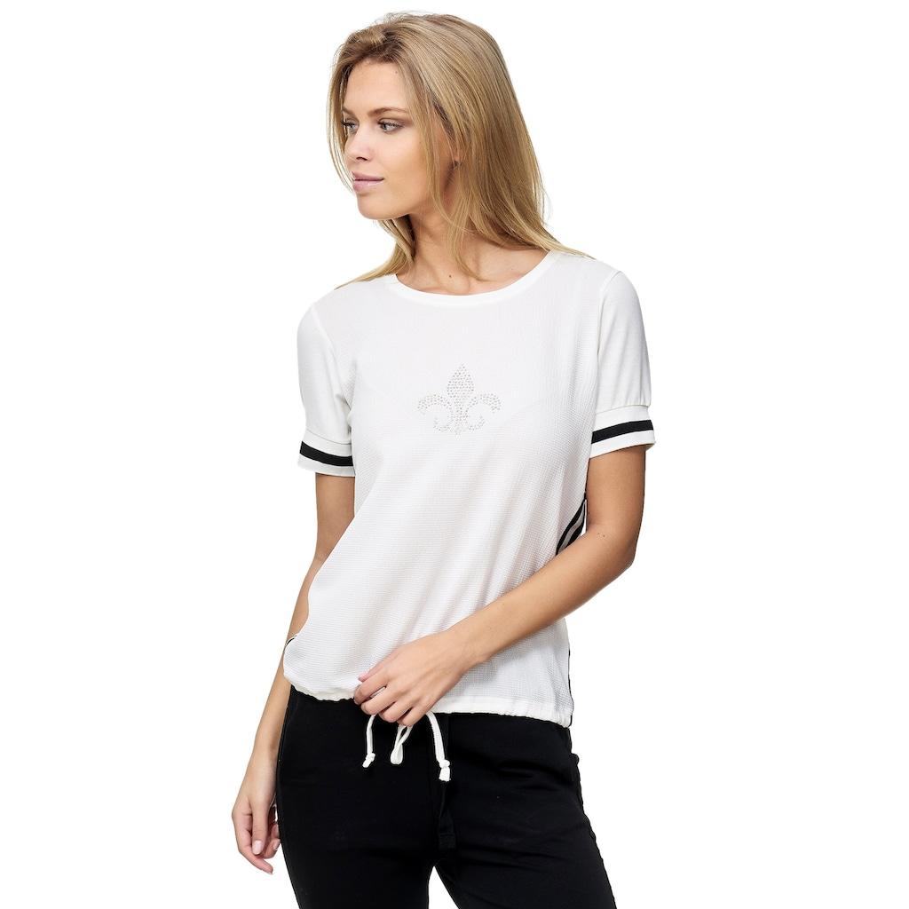 Decay T-Shirt, mit Tunnelzug und Strasssteinen