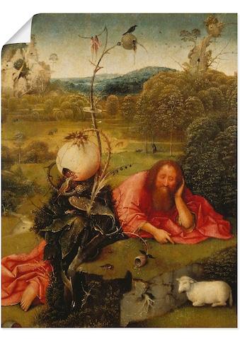 Artland Wandbild »Johannes der Täufer in der Wüste.« kaufen