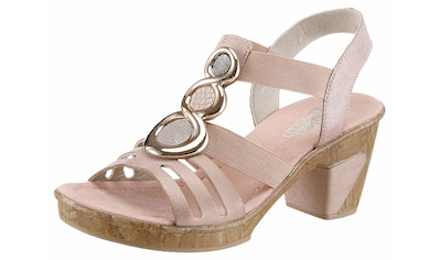 Rieker Sandalette, mit angesagter Schmuck-Applikation kaufen