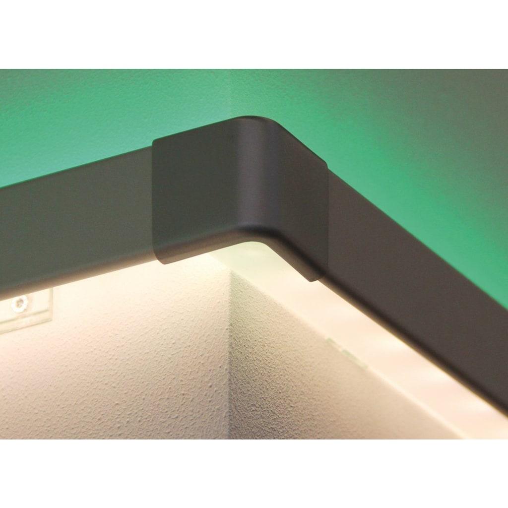 Paulmann LED-Streifen »Duo Profil Corner 2er Pack Alu matt, Kunststoff Alu matt, Kunststoff«