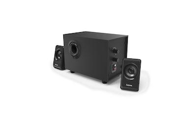 "Hama 2.1 - Sound - System ""BA - 2112"", Schwarz kaufen"