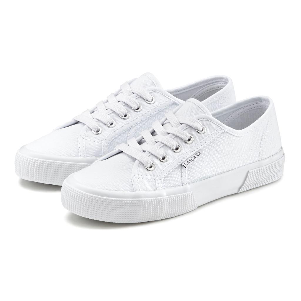 LASCANA Sneaker, aus Textil