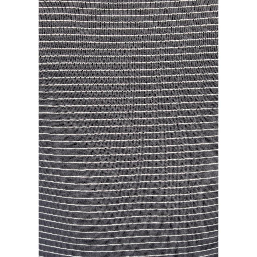 Levi's® Langarmshirt »Baby Tee«, mit kleinem Batwing- Logo