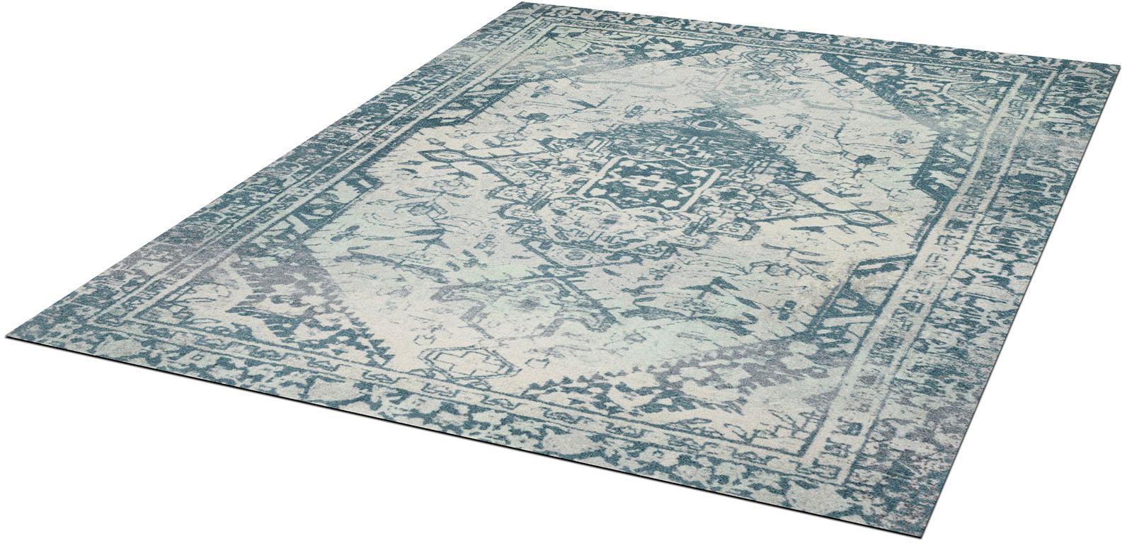 Teppich Levi wash+dry by Kleen-Tex rechteckig Höhe 9 mm gedruckt