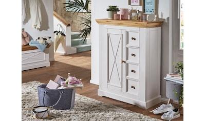 Premium collection by Home affaire Vorratsschrank »Marissa«, aus Massivholz kaufen