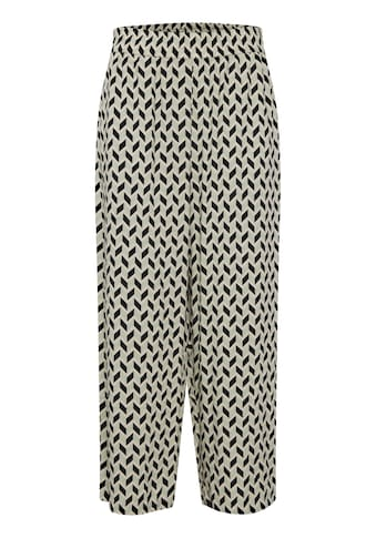b.young Stoffhose »b.young Damen Stoffhose mit Print«, Stoffhose kaufen