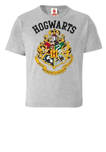 LOGOSHIRT T - Shirt mit lässigem Frontprint »Hogwarts« kaufen