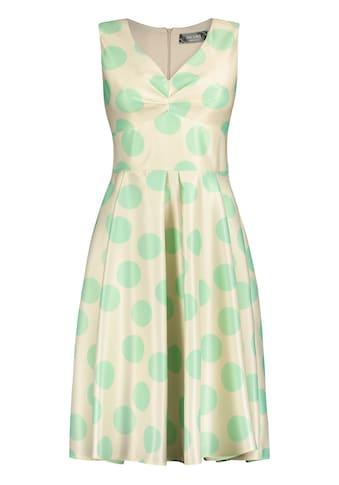 Nicowa Feminines Kleid ERALDA mit Punkte - Dessin kaufen