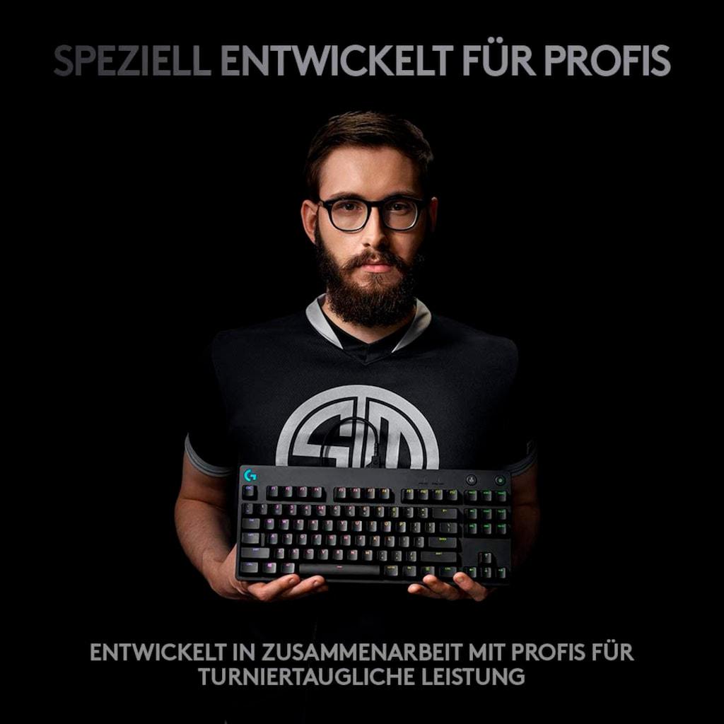 Logitech G Gaming-Tastatur »G PRO Mechanical Gaming Keyboard Clicky«, (Ziffernblock), Nummernblock